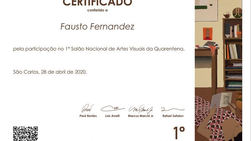 Certificado – Classificado entre os 40 finalistas (Copy)